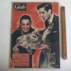 Coleccionismo de Revista Garbo: REVISTA GARBO Nº 244. 1957. CARMEN SEVILLA, SANTA MARIA GORETTI, CASTILLO DE UCLES. Lote 221987215