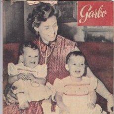 Coleccionismo de Revista Garbo: REVISTA GARBO Nº 17 AÑO 1953 LAS GEMELAS DE INGRID BERGMAN HAN CUMPLIDO UN AÑO. Lote 222147932