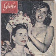 Coleccionismo de Revista Garbo: REVISTA GARBO AÑO 1953 Nº 23 HANNA REUTER LA MUJER MAS ATAREADA DEL MUNDO. Lote 222150091