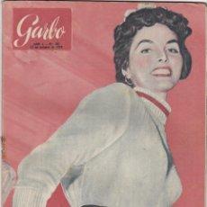 Coleccionismo de Revista Garbo: REVISTA GARBO AÑO 1953 Nº 30 / EL PRICIPE BONNIE ESTUDIA PARA SER REY. Lote 222152152