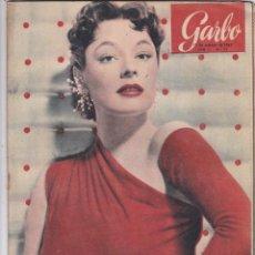 Coleccionismo de Revista Garbo: REVISTA GARBO AÑO 1953 Nº 31 / LOS GATOS COMEN DEL RITZ / Mª DEL PILAR RAMIREZ OLE TORERA. Lote 222152513