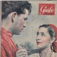Coleccionismo de Revista Garbo: REVISTA GARBO AÑO 1953 Nº 32 / REBELION EN GUYANA / RITA ROMPE SU PALABRA. Lote 222152820