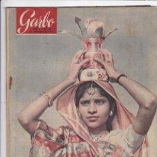 Coleccionismo de Revista Garbo: REVISTA GARBO AÑO 1953 Nº 36 / SAUD EL REY DE LAS TREINTA HERIDAS. Lote 222154000