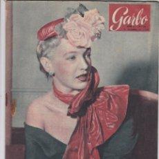 Coleccionismo de Revista Garbo: REVISTA GARBO AÑO 1953 Nº 38 / ESPIA RUSA POR AMOR HAN- NEROLE LEHN DOCTORA DE NIÑOS. Lote 222154297