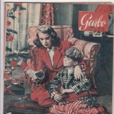 Coleccionismo de Revista Garbo: REVISTA GARBO AÑO 1954 -Nº 42 CARMEN POLO DE FRANCO ACOMPAÑADA DE SU NIETA MARIA DEL CARMEN. Lote 222237028