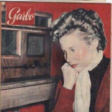 Coleccionismo de Revista Garbo: REVISTA GARBO AÑO 1954 -Nº 45 / A LA CAZA DEL ABOMINABLE HOMBRE DE LAS NIEVES. Lote 222241753