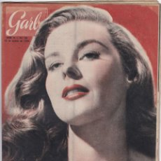 Coleccionismo de Revista Garbo: REVISTA GARBO AÑO 1954 -Nº 52 / LAS NUEVE SEÑORITAS DEL ELISEO. Lote 222242846