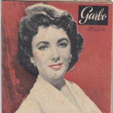 Coleccionismo de Revista Garbo: REVISTA GARBO AÑO 1954 -Nº 54 / EL TESORO DE HITLER ESTA OCULTO. Lote 222244835