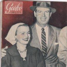 Coleccionismo de Revista Garbo: REVISTA GARBO AÑO 1954 -Nº 56 / DOS MUJERES LUCHAN POR EL TRONO DE JORDANIA. Lote 222245283