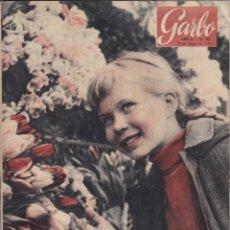 Coleccionismo de Revista Garbo: REVISTA GARBO AÑO 1954 -Nº 60 / EL GENERAL NAGUID HABLA PARA GARBO. Lote 222286463