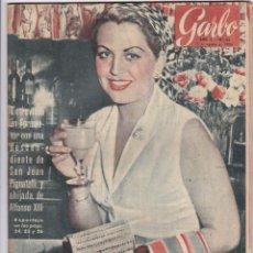 Coleccionismo de Revista Garbo: REVISTA GARBO AÑO 1954 -Nº 73 / GEZA KAPUS HUEYDO DEL COMUNISMO. Lote 222288327