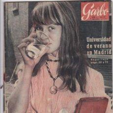 Coleccionismo de Revista Garbo: REVISTA GARBO AÑO 1954 -Nº 77 / HISTORIA DE LAS MUJERES ESPIAS. Lote 222288791