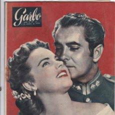 Coleccionismo de Revista Garbo: REVISTA GARBO AÑO 1954 -Nº 81 / WILMA MONTESI ESA DESCONOCIDA /EL GRAN MUTFI DE JERUSALEN. Lote 222289371