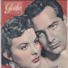Coleccionismo de Revista Garbo: REVISTA GARBO AÑO 1954 -Nº 88 / FORMOSA EN UN ARCO TENSO / EL LINDERBERGH DE 1954. Lote 222290323