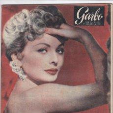 Coleccionismo de Revista Garbo: REVISTA GARBO AÑO 1954 -Nº 91 / EL SEÑOR DE LOS SIETE MARES ARISTOTELES SOCRATES ONASSIS. Lote 222290653