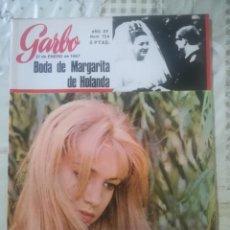 Coleccionismo de Revista Garbo: GARBO Nº 724 - BODA DE MARGARITA DE HOLANDA. Lote 222356723