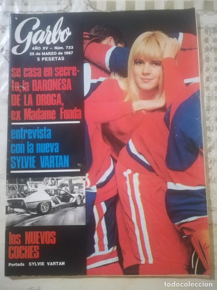 GARBO Nº 733 (Coleccionismo - Revistas y Periódicos Modernos (a partir de 1.940) - Revista Garbo)