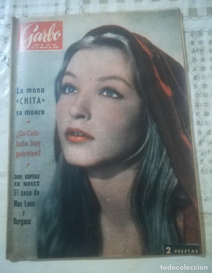 GARBO Nº 154 - LA MONA CHITA SE MUERE - ¿EN CATALUÑA HAY PETRÓLEO? (Coleccionismo - Revistas y Periódicos Modernos (a partir de 1.940) - Revista Garbo)