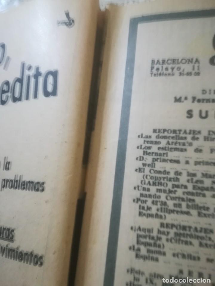 Coleccionismo de Revista Garbo: Garbo Nº 154 - La mona Chita se muere - ¿En Cataluña hay petróleo? - Foto 5 - 222360496