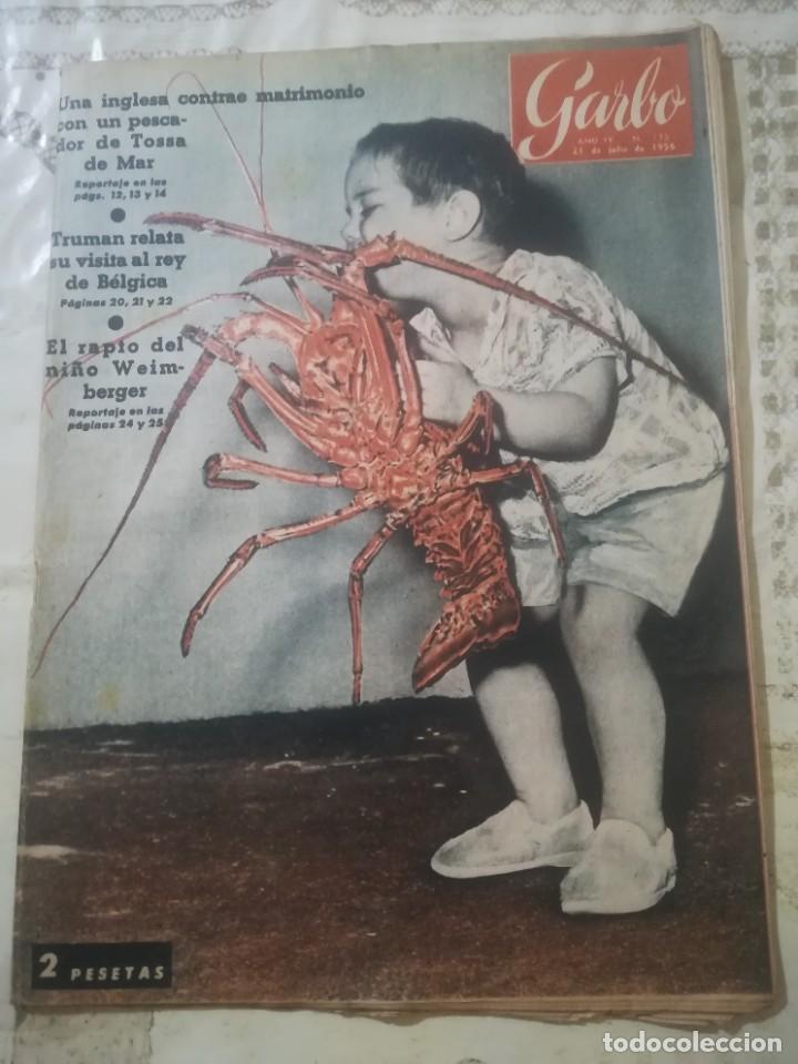 GARBO Nº 175 - EL RAPTO DEL NIÑO WEIMBERGER (Coleccionismo - Revistas y Periódicos Modernos (a partir de 1.940) - Revista Garbo)