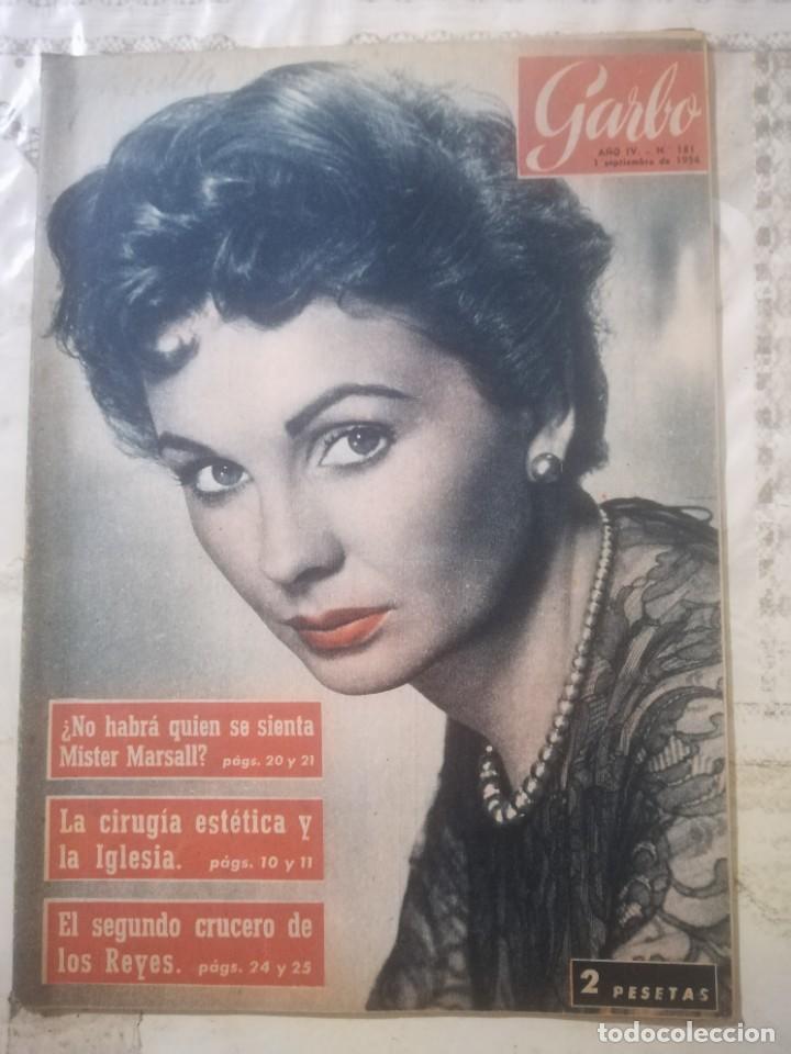GARBO Nº 181 - JEAN SIMMONS (Coleccionismo - Revistas y Periódicos Modernos (a partir de 1.940) - Revista Garbo)