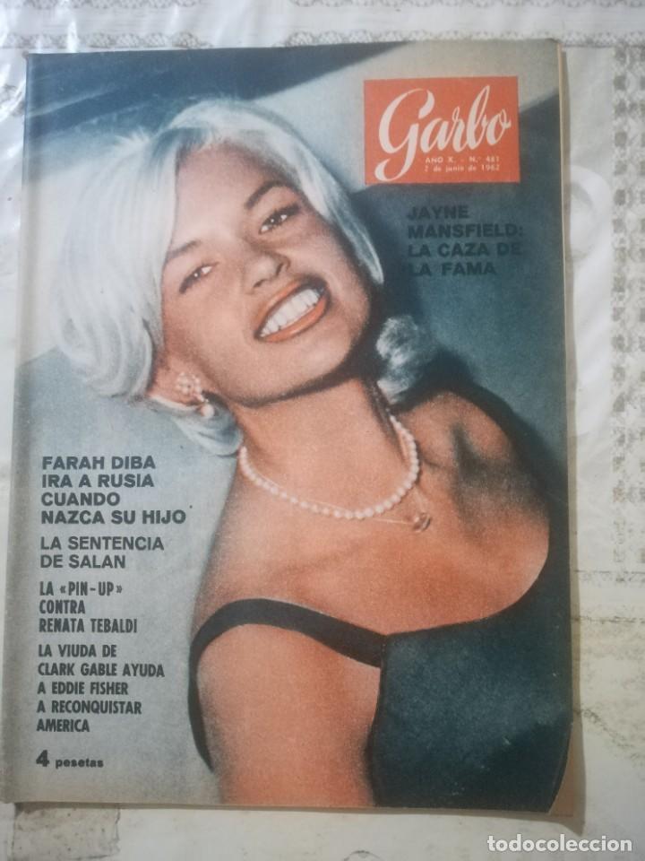 GARBO Nº 481 - JAYNE MANSFIELD (Coleccionismo - Revistas y Periódicos Modernos (a partir de 1.940) - Revista Garbo)