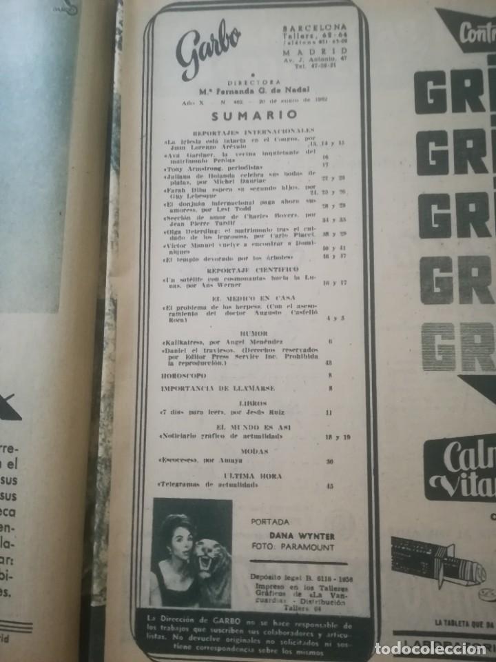 Coleccionismo de Revista Garbo: Garbo Nº 462 - Foto 3 - 222364878