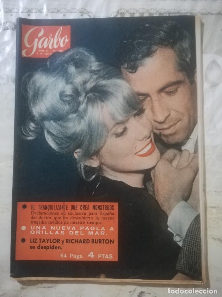 GARBO Nº 490 - EL TRANQUILIZANTE QUE CREA MONSTRUOS (Coleccionismo - Revistas y Periódicos Modernos (a partir de 1.940) - Revista Garbo)