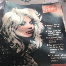 Coleccionismo de Revista Garbo: REVISTA GARBO N 402. AÑO 1960. Lote 222733351