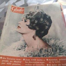 Coleccionismo de Revista Garbo: REVISTA GARBO N 453. AÑO 1961. Lote 222733513