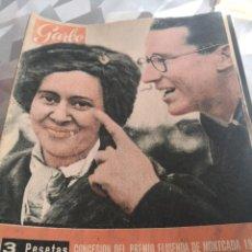 Coleccionismo de Revista Garbo: REVISTA GARBO N 485 AÑO 1960. Lote 222733683