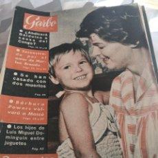 Coleccionismo de Revista Garbo: REVISTA GARBO N 391. AÑO 1960. Lote 222733748