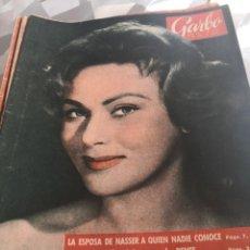 Coleccionismo de Revista Garbo: REVISTA GARBO N 329 AÑO 1959. Lote 222733801
