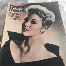 Coleccionismo de Revista Garbo: REVISTA GARBO N 116 AÑO 1955. Lote 222734185
