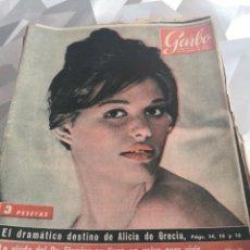 Coleccionismo de Revista Garbo: REVISTA GARBO N 343 AÑO 1958. Lote 222734325