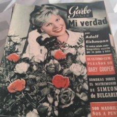 Coleccionismo de Revista Garbo: REVISTA GARBO N 427 AÑO 1961. Lote 222734476