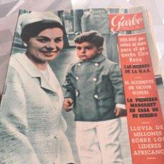 Coleccionismo de Revista Garbo: REVISTA GARBO N 482 AÑO 1962. Lote 222734601