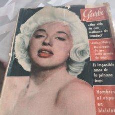 Coleccionismo de Revista Garbo: REVISTA GARBO N 454 AÑO 1961. Lote 222734895