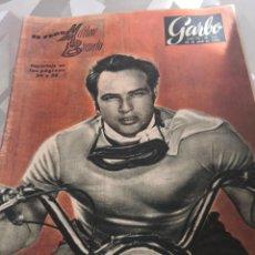 Coleccionismo de Revista Garbo: REVISTA GARBO N 111 AÑO 1955 MARLON BRANDO PORTADA 10 FOTO 2 PAG. Lote 222735073