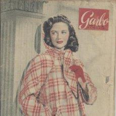 Coleccionismo de Revista Garbo: REVISTA GARBO Nº 48 DEL 13-02-1954. Lote 222783393