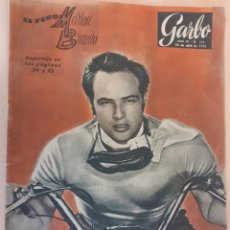 Coleccionismo de Revista Garbo: REVISTA GARBO Nº 111. MARLON BRANDO. EINSTEIN. ABRIL DE 1955. Lote 223516585
