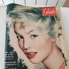 Coleccionismo de Revista Garbo: REVISTA GARBO 1957. Lote 224996651