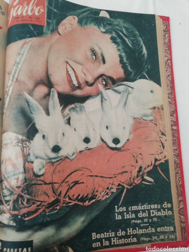 Coleccionismo de Revista Garbo: Garbo 1956 - Foto 6 - 224997255