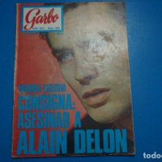 Coleccionismo de Revista Garbo: REVISTA GARBO ALAIN DELON SALVATORE ADAMO TONY RONALD LUIS AGUILE CONCHITA VELASCO Nº 836 L2. Lote 227862183