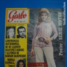 Colecionismo da Revista Garbo: REVISTA GARBO CONCHITA BAUTISTA PICASSO PAQUITA RICO POSTER MOTO Nº 973 L6. Lote 229171805