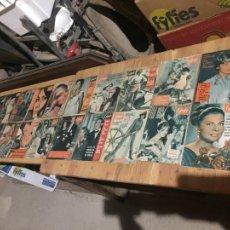Coleccionismo de Revista Garbo: ANTIGUO GRAN LOTE DE 20 REVISTA / REVISTAS GARBO AÑO 1963 VARIOS AÑOS. Lote 230627950