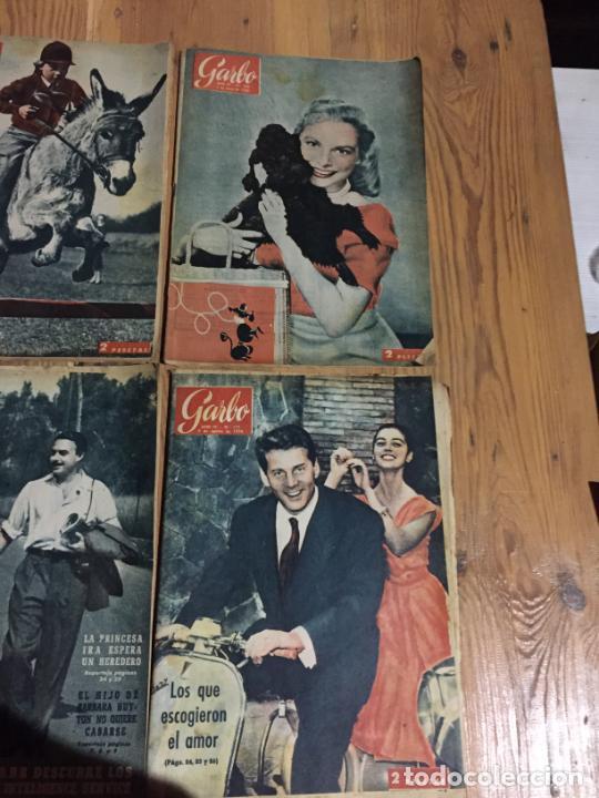 Coleccionismo de Revista Garbo: Antiguo gran lote de 20 revista / revistas Garbo año 1961 varios años - Foto 2 - 230629160