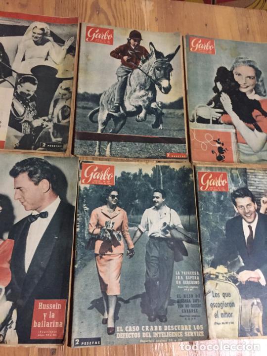 Coleccionismo de Revista Garbo: Antiguo gran lote de 20 revista / revistas Garbo año 1961 varios años - Foto 3 - 230629160