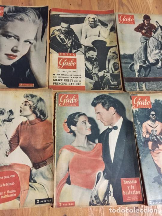 Coleccionismo de Revista Garbo: Antiguo gran lote de 20 revista / revistas Garbo año 1961 varios años - Foto 4 - 230629160