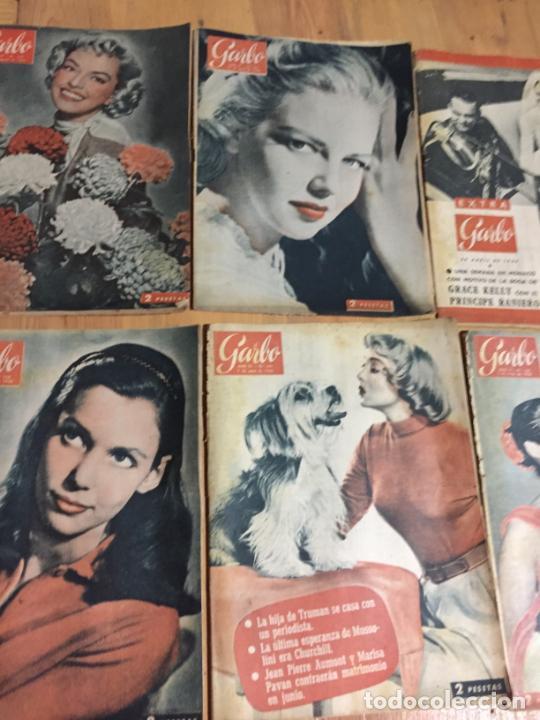 Coleccionismo de Revista Garbo: Antiguo gran lote de 20 revista / revistas Garbo año 1961 varios años - Foto 5 - 230629160